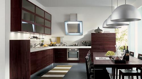 cucine moderne in legno massello  canlic for ., Disegni interni