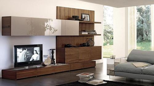 Awesome Soggiorni In Legno Contemporary - Design Trends 2017 ...